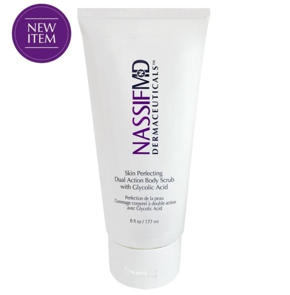 Skin Perfecting Dual Action Body Scrub with Glycolic Acid by Dr Nassif