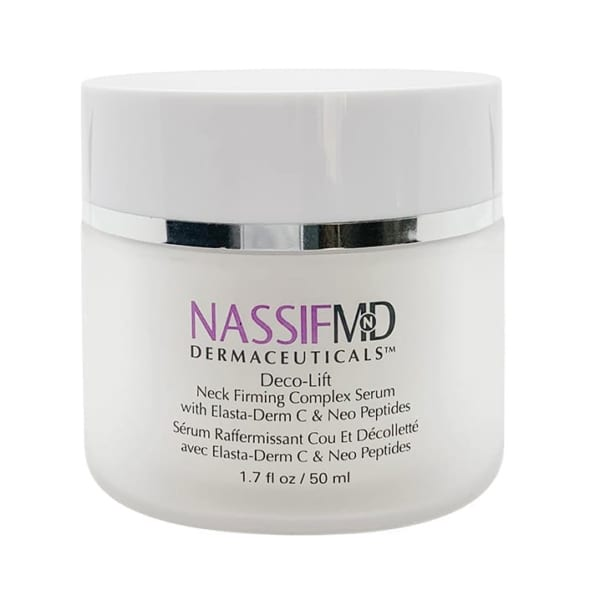Deco-Lift Neck Firming Complex Serium with Elasta-Derm C & Neo Peptides by Dr Nassif