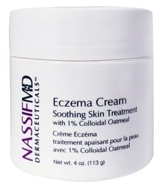 Eczema Cream Soothing Skin Treatment by Dr Nassif